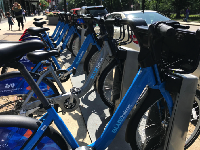 Biking Boston's Public Garden