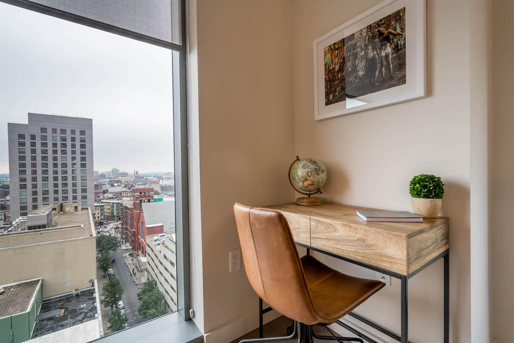Compass Furnished Apartments-Boston Desk