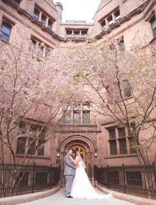 Yale University wedding