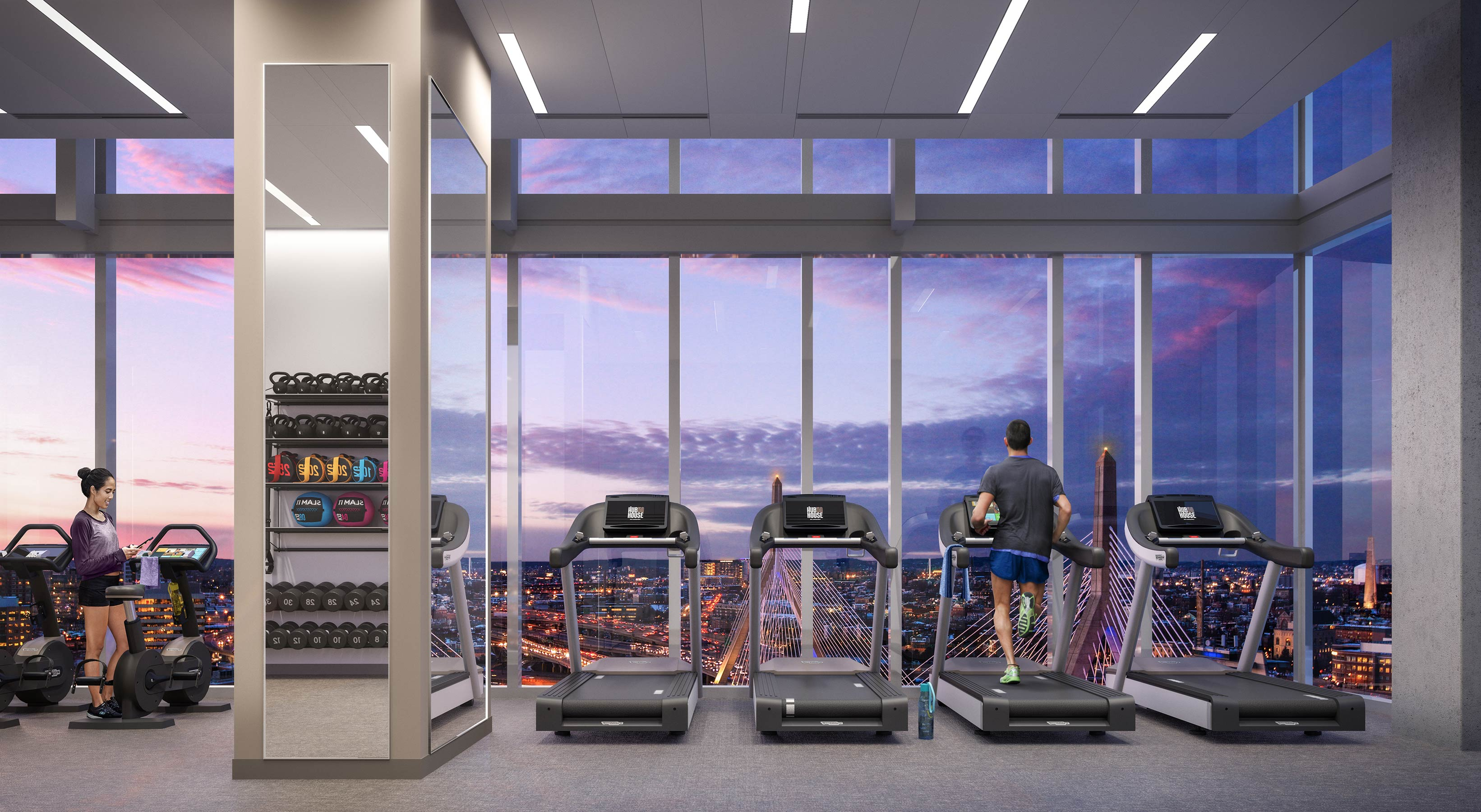 Hub 50 House Fitness Center