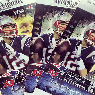 Patriots Game Tickets