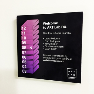 Welcome to ARTlab DX sign