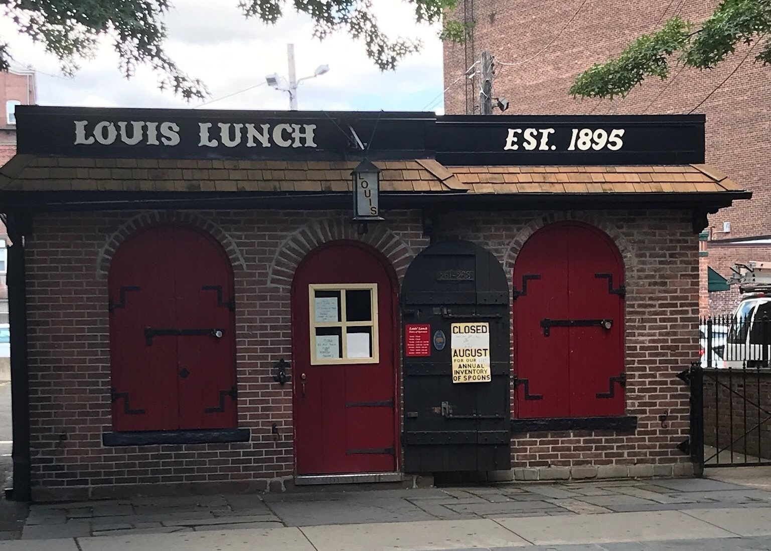 Louis' Lunch New Haven